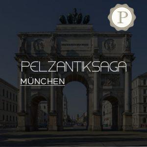 Pelzankauf München - Siegestor in der Leopoldstraße - München - Pelzantiksaga